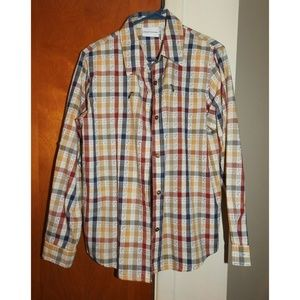 Alfred Dunner Womens Plaid Long Sleeve Size 10